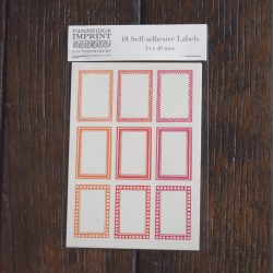 Self-Adhesive Labels Small Reds
