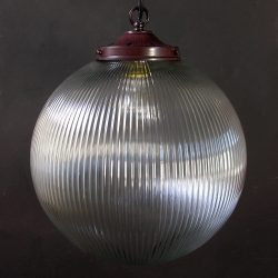 Prismatic Pendant Light Globe Large