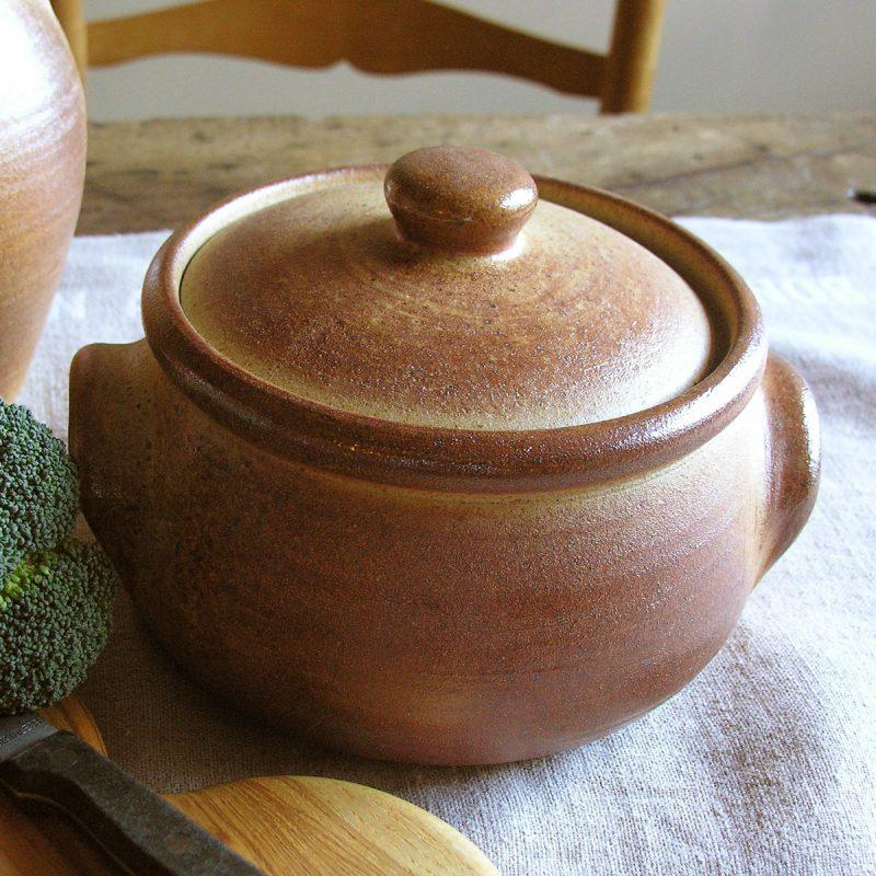 Leach Stoneware Medium Squat Casserole