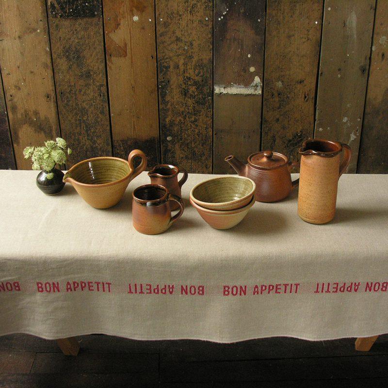 Large Leach Stoneware Teapot