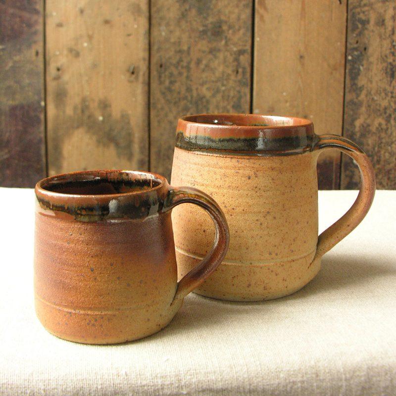 Leach Stoneware Soup Mug