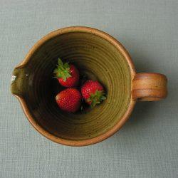 Leach Stoneware Pouring Bowl