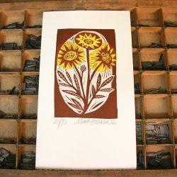 Flowers print by Mark Hearld