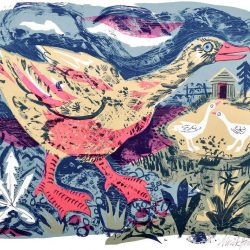 Mark Hearld Goose Print