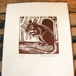 Mouse by Mark Hearld