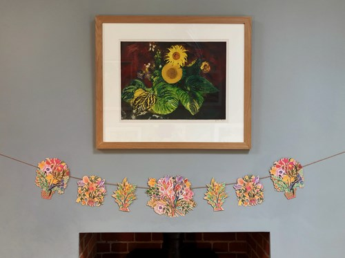 Mark Hearld Flower Garland