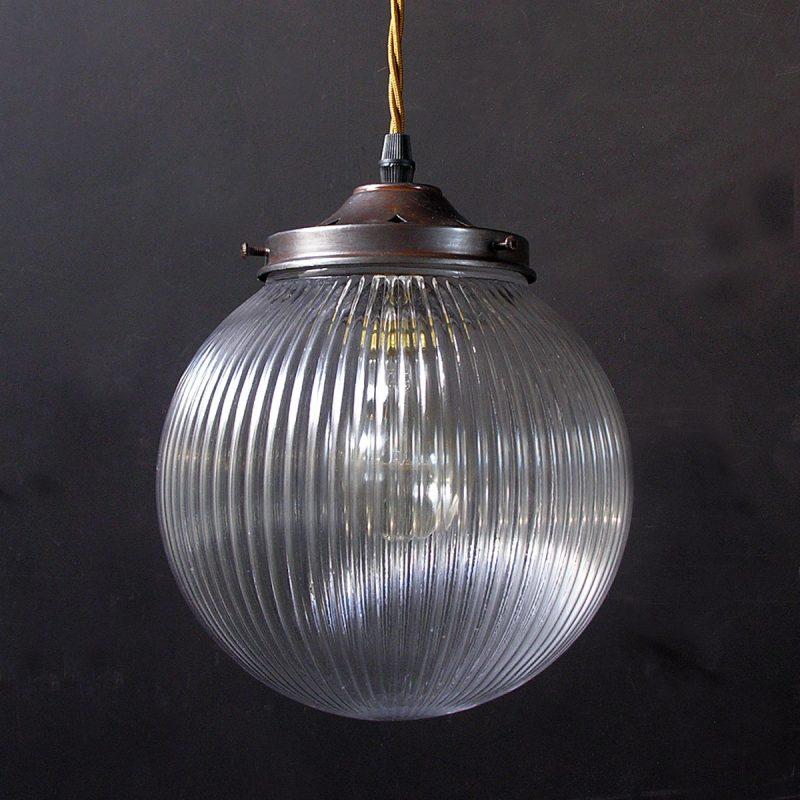 Prismatic Pendant Light Globe Medium