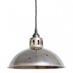 Antique Silver Pendant Light