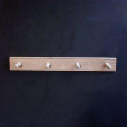 4 Oak Hook Rail