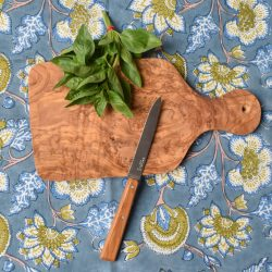 Olive Wood Chopping Board with Handle