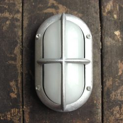 Oval Bulkhead Light with Crossguard