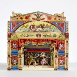 POLLOCK'S THEATRE DIORAMA CARD