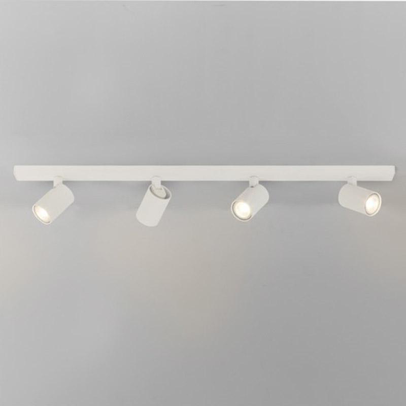 White Spotlight Quadruple Bar