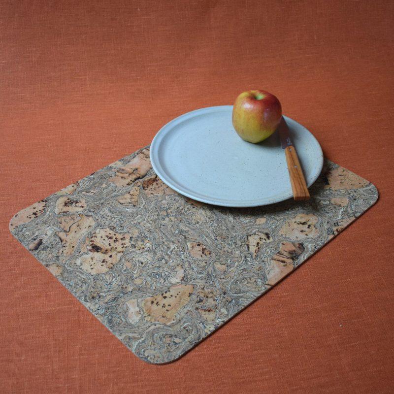 Rustic Cork Table Mat