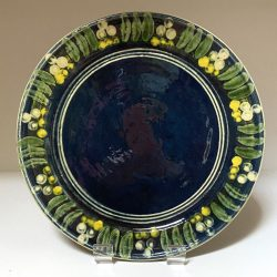 French Country Pottery Plate SSTP2