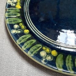 French Country Pottery Plate