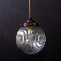 Prismatic Pendant Light Globe Small