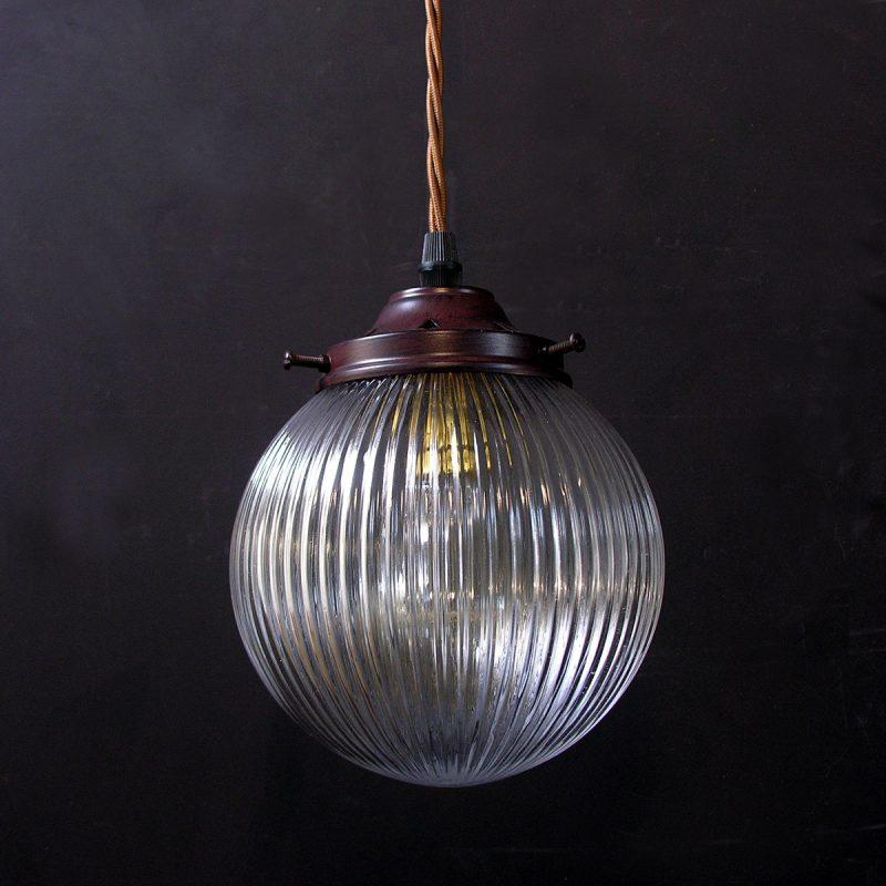 Prismatic Pendant Light Globe Small