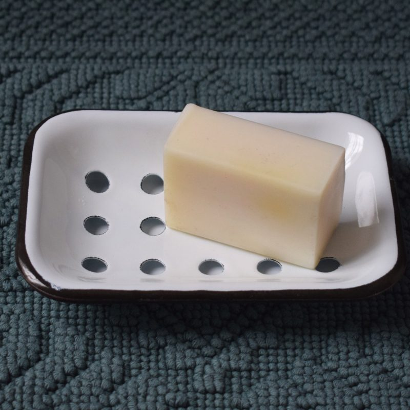 Enamelled Two-Part Soap Dish