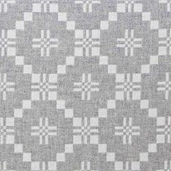 Welsh Blanket St David's Cross - Grey