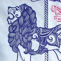 Printed Cotton Teatowel - Big Cats