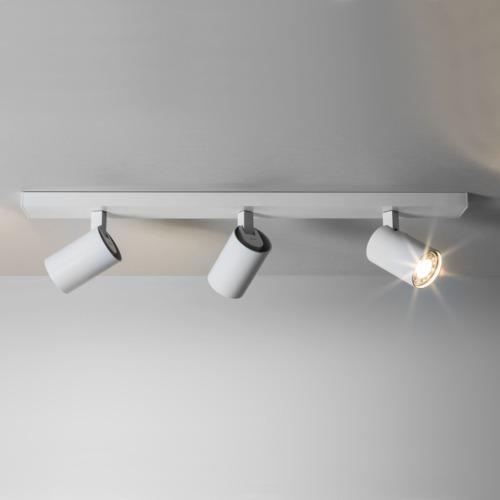 White Spotlight Triple Bar
