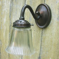 Tinsmiths Scroll Wall Light