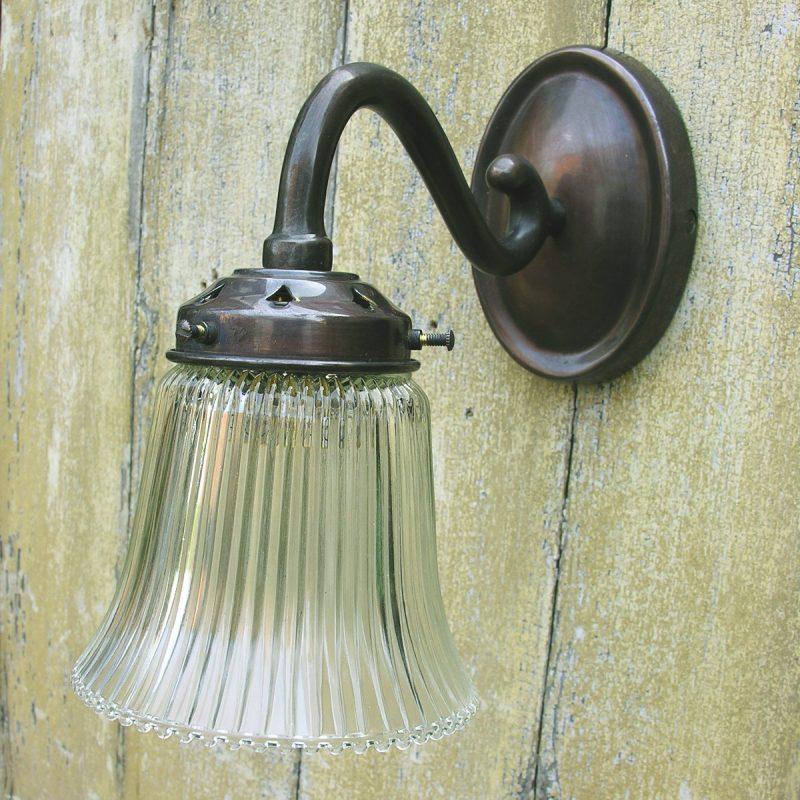Tinsmiths Scroll Wall Light