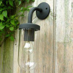 Simple Light Well Glass Black