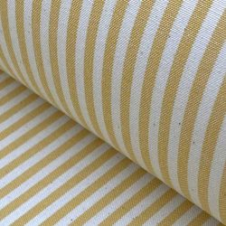 Alpha Stripe Custard Yellow