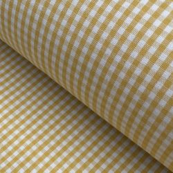 Brogue-check-Sunshine-Yellow
