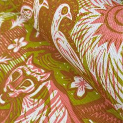 Mark Hearld Tyger Tyger Chartreuse Rose-diagonal