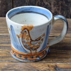 Andrew McGarva Chicken Stoneware Mug - AMGMM2