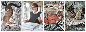 Angela Harding Artist Collage Tinsmiths