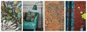Ben Pentreath Queens Square Collection  morris & Co Tinsmiths Collage