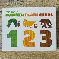 Eric Carle Number Flashcards