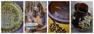 Hannah McAndrew Potter Collage Tinsmiths