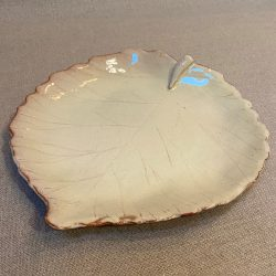 James Burnett Stuart Large Hazel Leaf Dish - JB1922