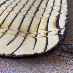 Andrew McGarva Small Square Slipware Plate - AMG31