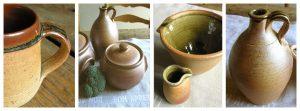 Muchelney Leach Pottery Collage Tinsmiths