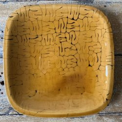 Patia Davis Side Plate Amber