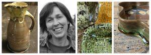 Patia Davis Ceramicist Collage Tinsmiths