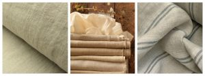 Washed Linen Fabrics Collage Tinsmiths