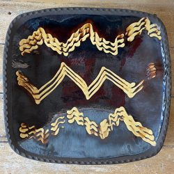 Andrew McGarva Large Slipware Dish - AMG19437
