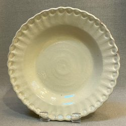 James Burnett-Stuart Large Cream Plate - JB193