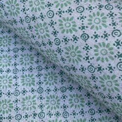 Daisy Fabric Greens