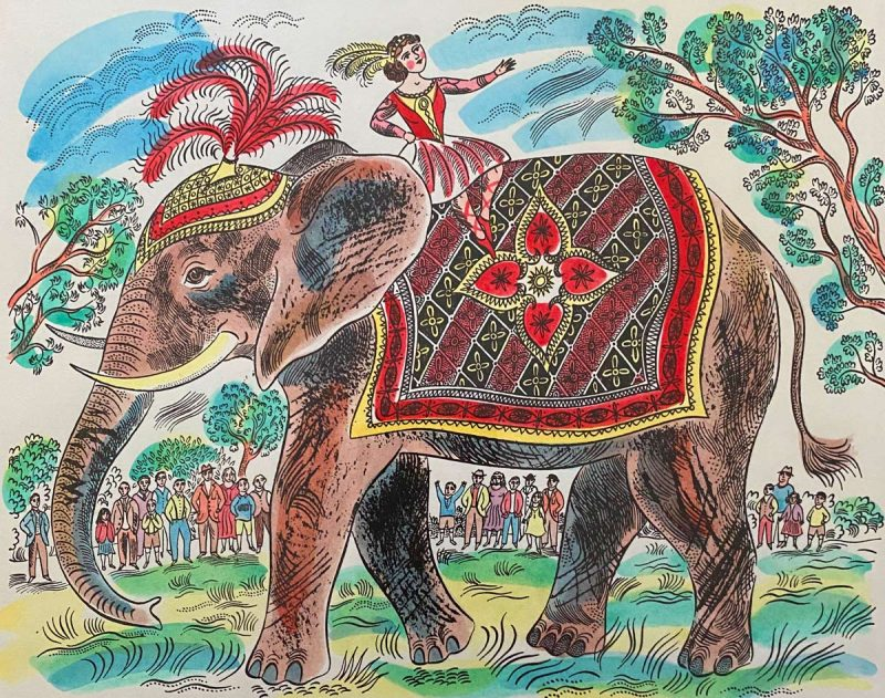 Emily Sutton Plumed Elephant
