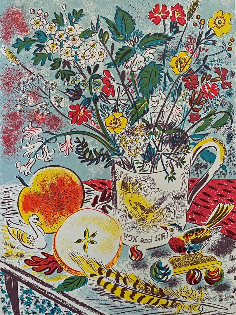Emily Sutton Fox and Grapes
