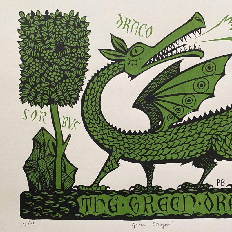 Paul Bommer Green Dragon