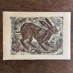 Mark Hearld Hare Print